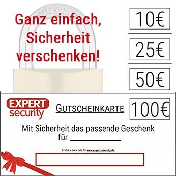Expert Security Geschenkkarte Gutschein