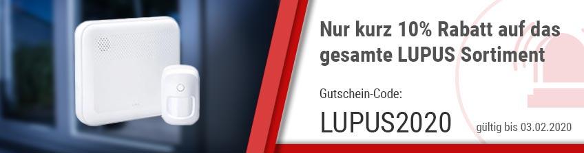 10% auf das gesamte Lupus Sortiment Sets
