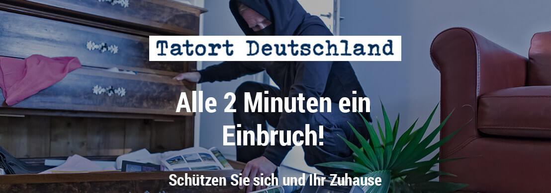 Einbruchschutz - Tatort Deutschland