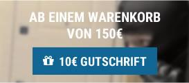10 € Gutschrift