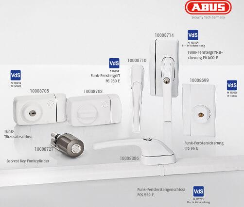 Mechatronik Artikel ABUS Secvest